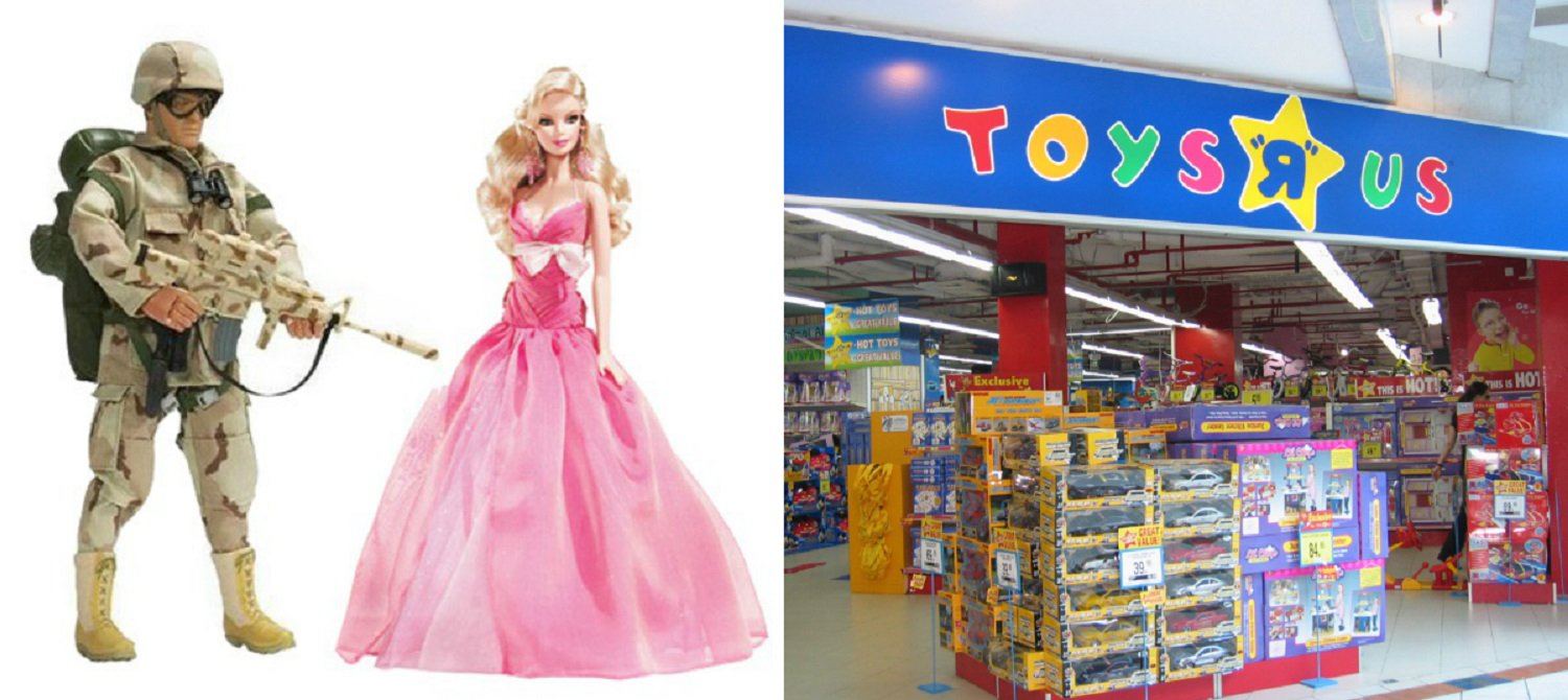 Toys R Us Removes Toy Guns In France And Ditches Gender Labels In The Uk
