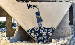 Article: Street Artist, Called 'Syrian Banksy,' Is Spreading Hope in His War-Torn Country