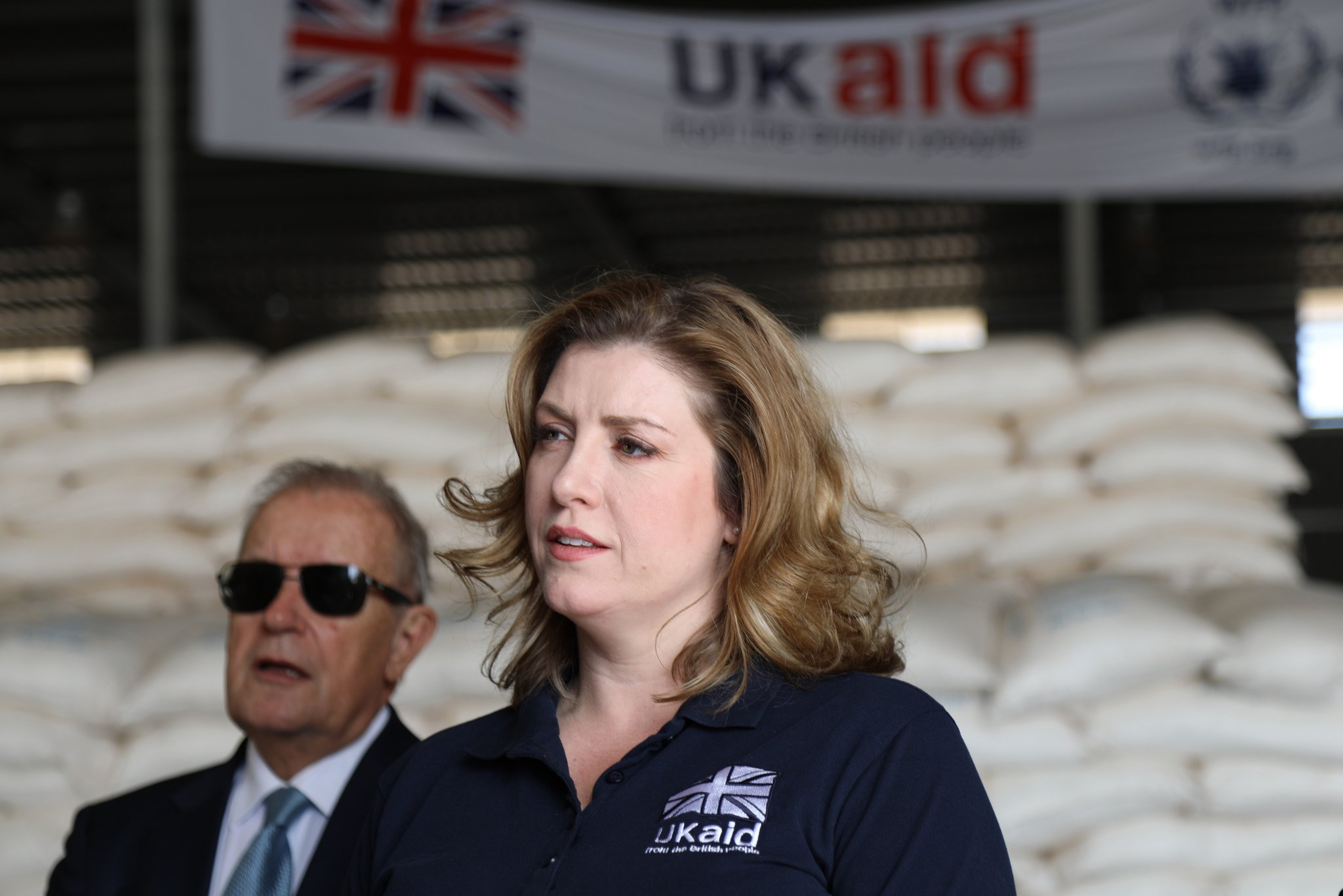 Penny mordaunt uk aid DfID Flickr