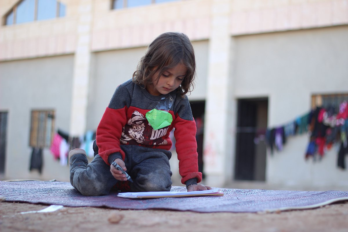 Photo by Khudr Al-Issa/UNICEF