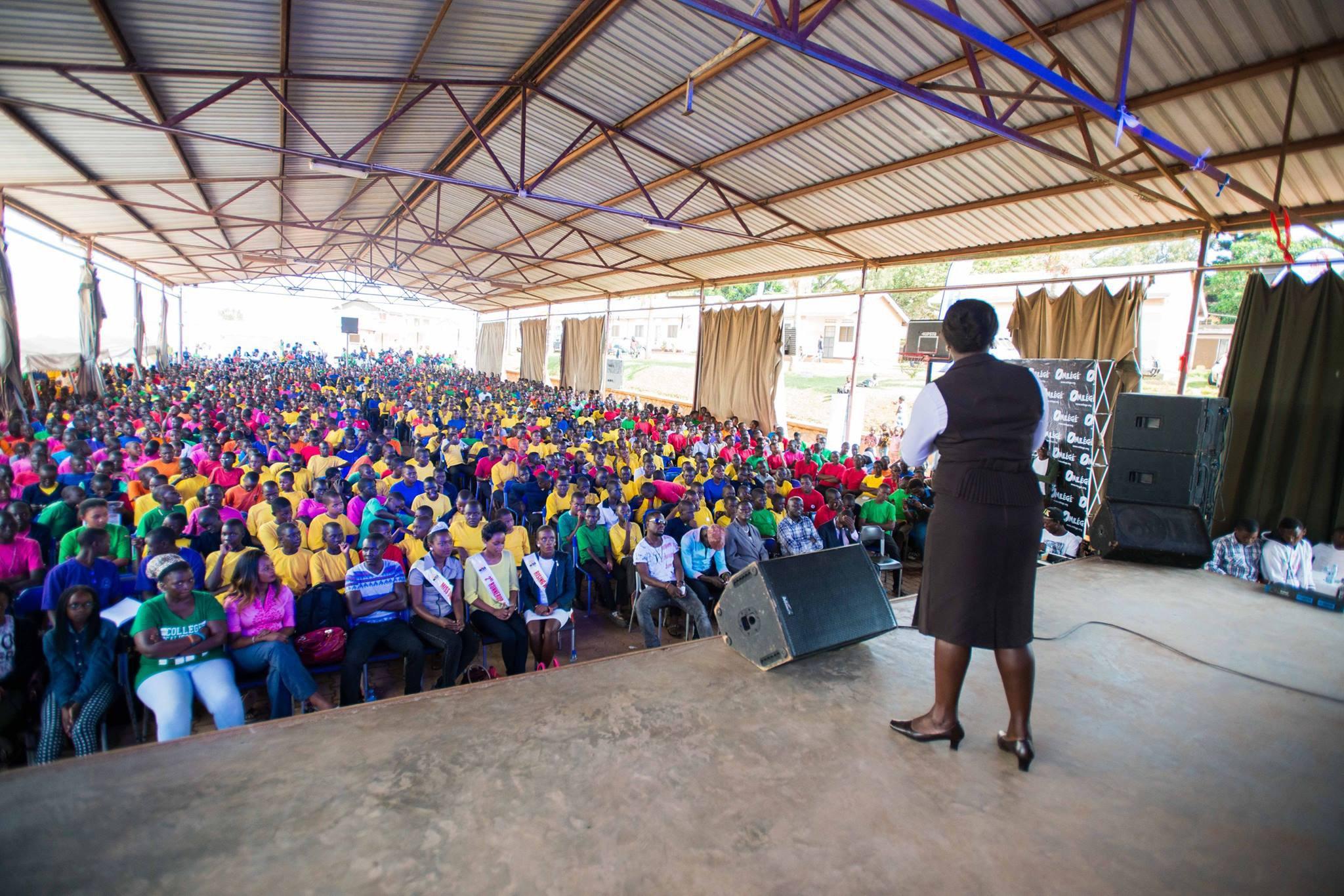 Reach a Hand Uganda assembly