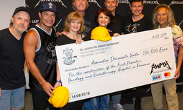 Artículo: Metallica Donates $277,000 to Fight Pediatric Cancer in Romania