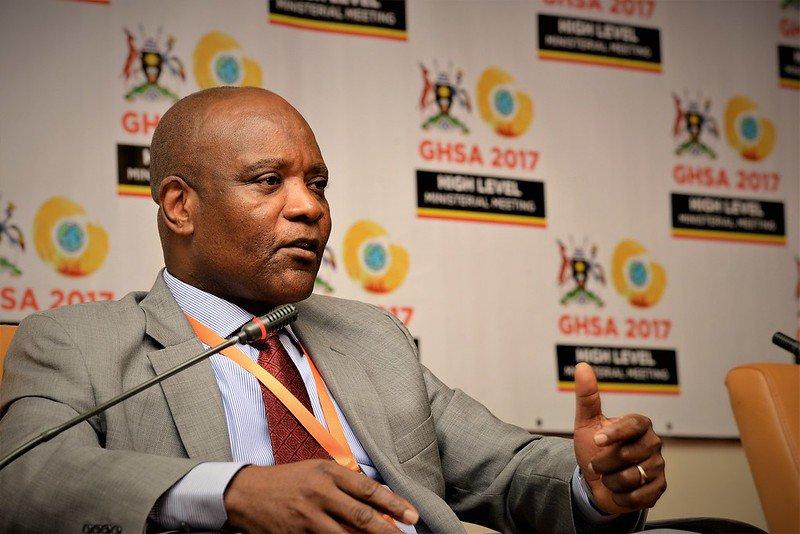 Dr John Nkengasong Africa CDC Chief