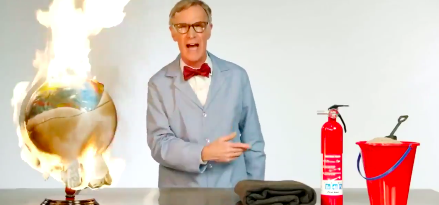 Bill Nye Curses Out Climate Deniers in Latest Call to Action