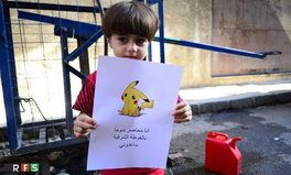 Article: Syrian Children Are Holding Pokémon Characters to Get the World's Attention