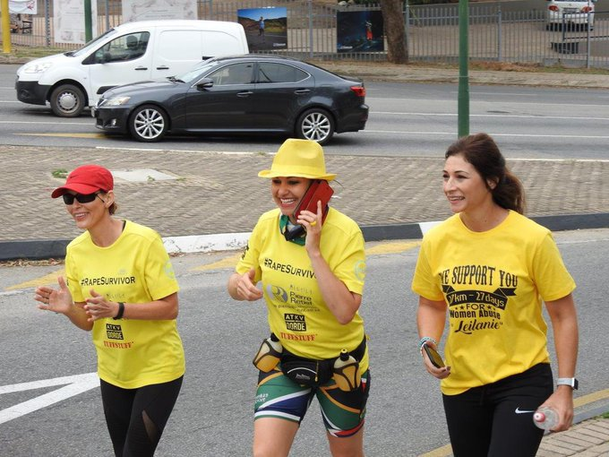 Dressed in Colours Worn by Her Rapist, South African Woman Walks 700km to Inspire Hope