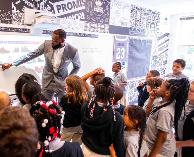 4d30fe5754a07c 7 Amazing Things About LeBron James  New School for Low-Income Students