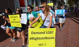 Article: FIFA World Cup in Russia Could Be Dangerous for Gays, Group Warns