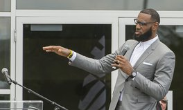 Article: LeBron James Partners with Walmart to Help End Hunger in America