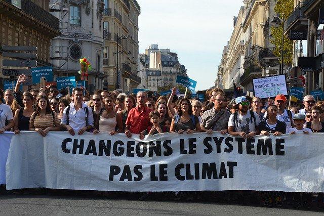 Marche du climat à Paris en 2018