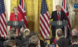 Article: Theresa May and Donald Trump Talk Trade, Mexico, Foreign Relations in First Meeting