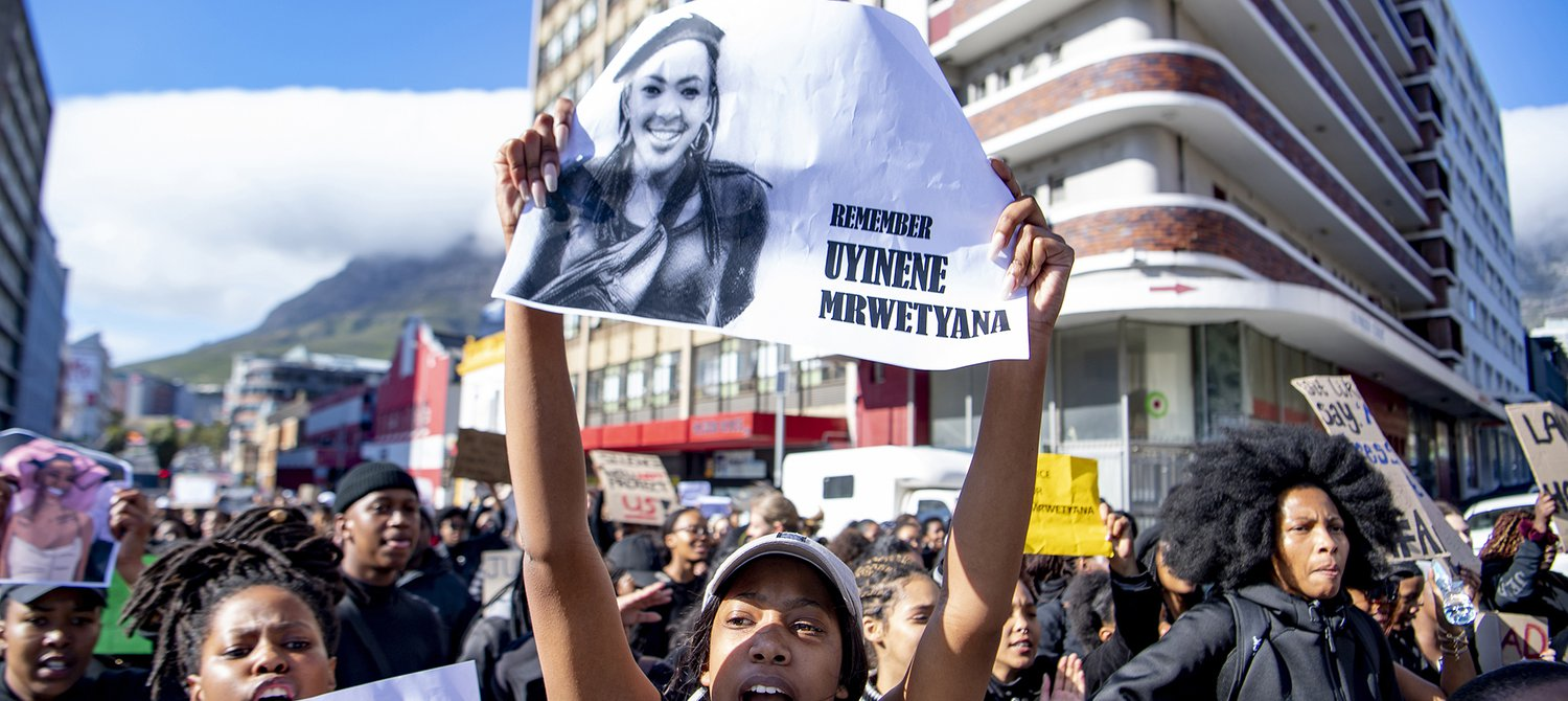 The South African Parliament Calls on Police to Be Sensitive to Survivors of Rape