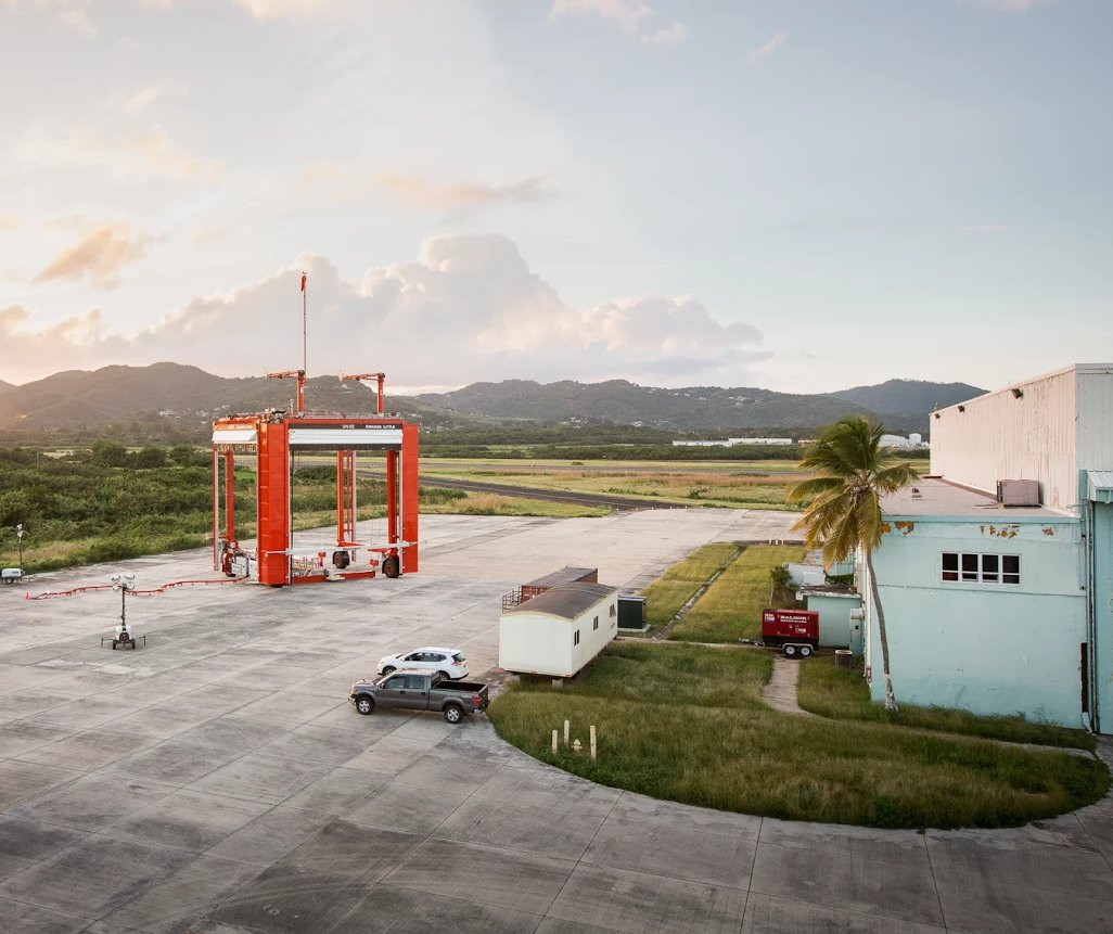 The Project Loon launching pad in Puerto Rico. Photo: Alphabet/Project Loon