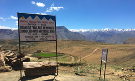 Article: World's 'Highest' Village Runs Dry as Warming Hits the Himalayas