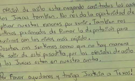 Article: Detained Migrant Parents Pen Heartbreaking Letter Asking for Their Children