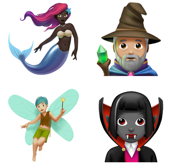 New emojis apple Twitter