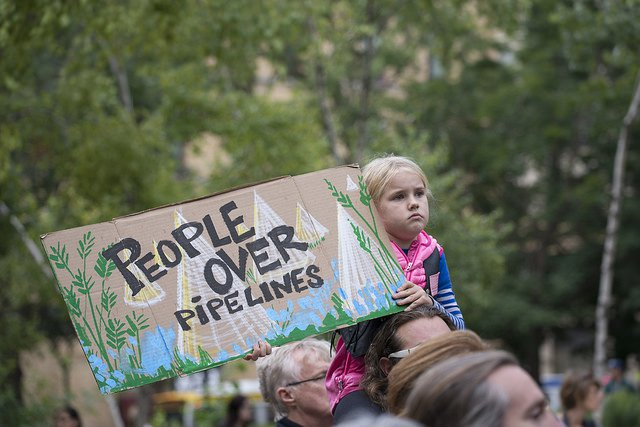 Protest against the Dakota Access Pipeline