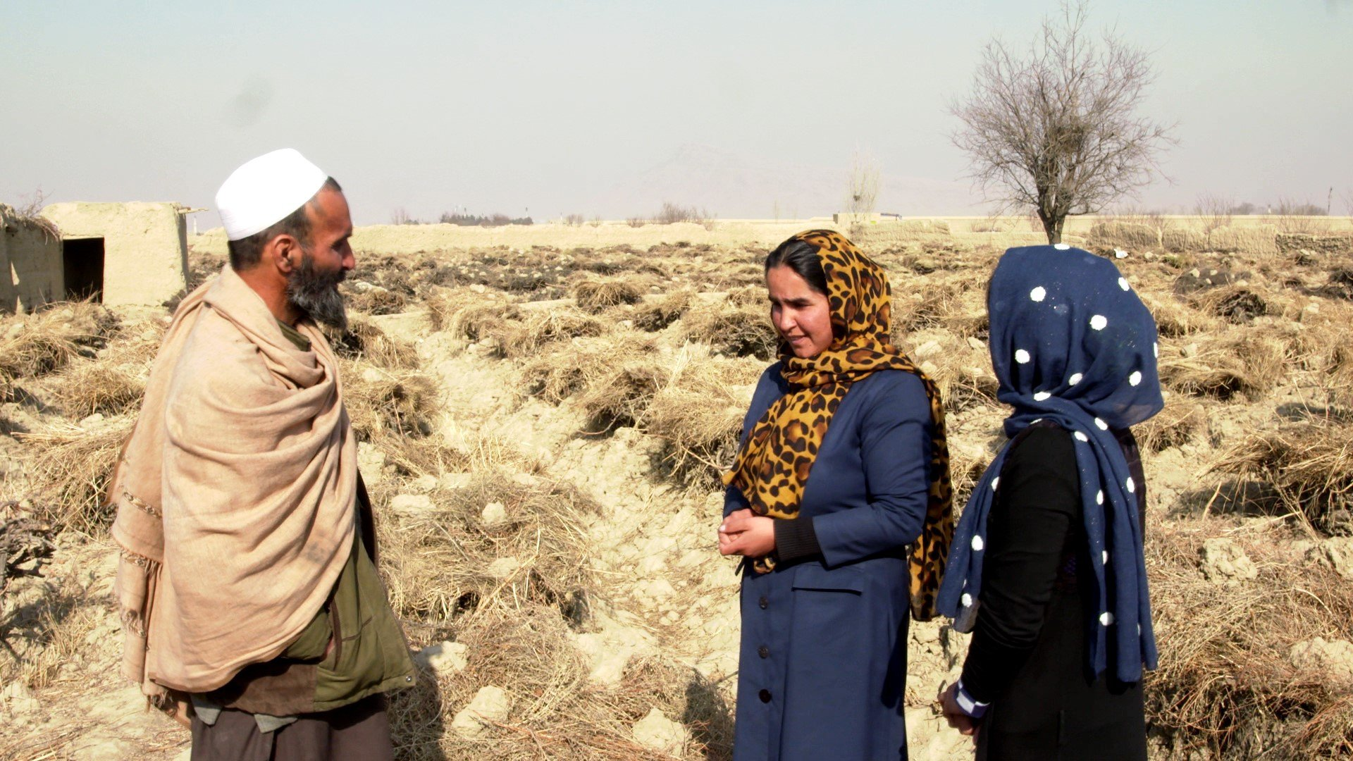 Afghanistan girls education climate change