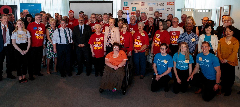 Australian Politicians Unite to Champion One Last Push to End Polio