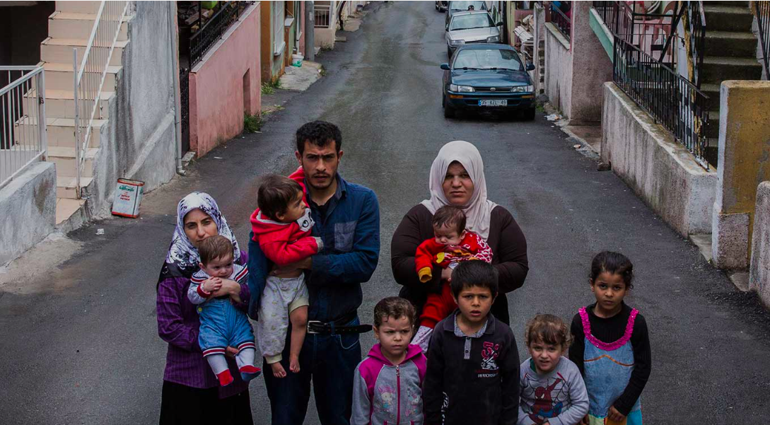Syrian refugees family in Turkey UNHCR