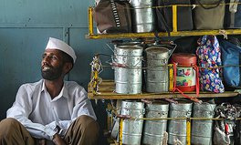 Article: India dabbawalla roti bank food waste
