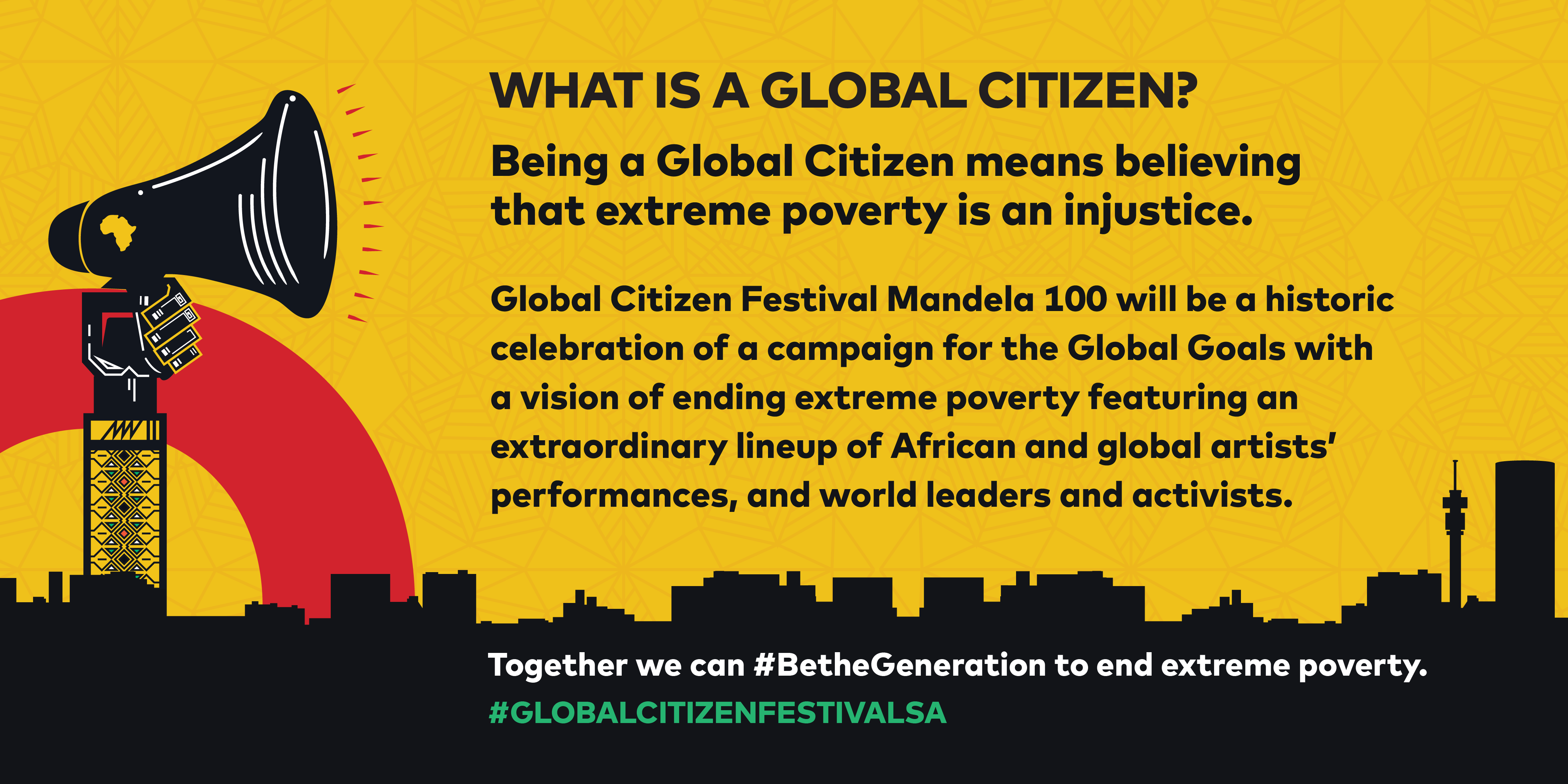 2020 Global Citizen Festival How to Get Tickets to Global Citizen Festival in South Africa