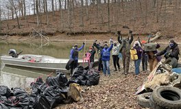 Article: Volunteers Pull 9,208 Pounds of Plastic From Tennessee River