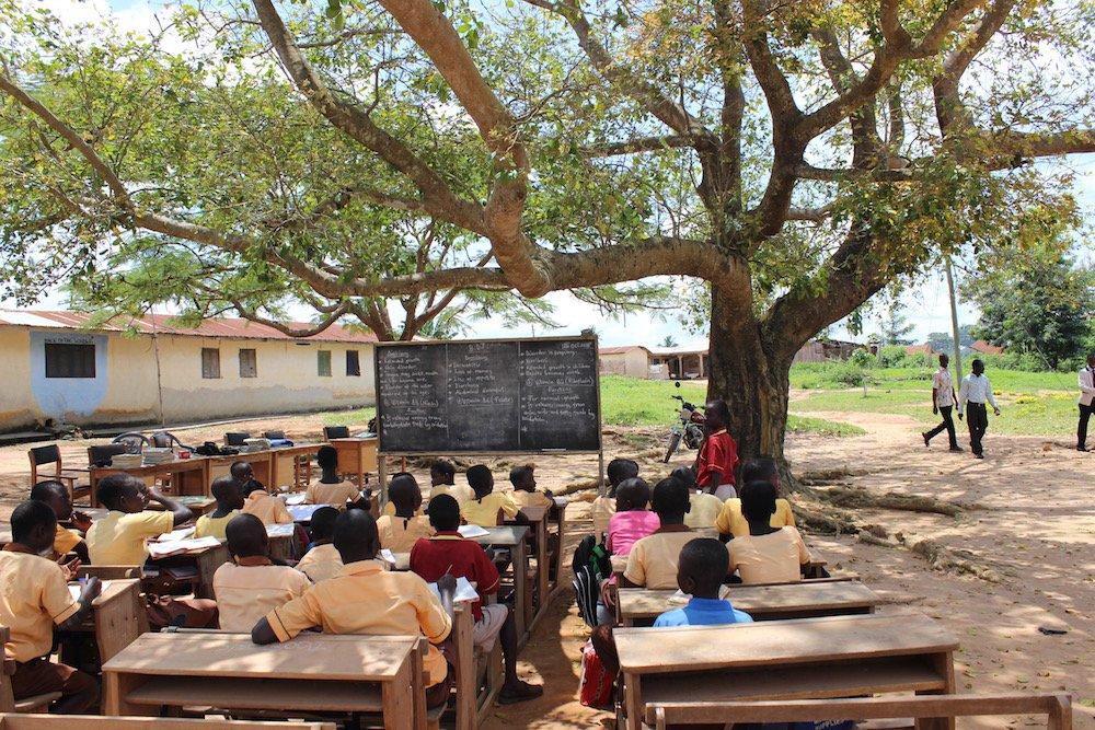 A school in ©Jana Sepehr