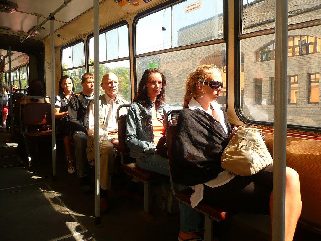 Bus in Estonia