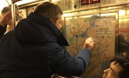 Article: Strangers Come Together to Clean Up Hateful Graffiti on Subway