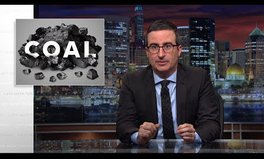 Video: John Oliver Explains Why Coal Jobs Just Aren't Coming Back