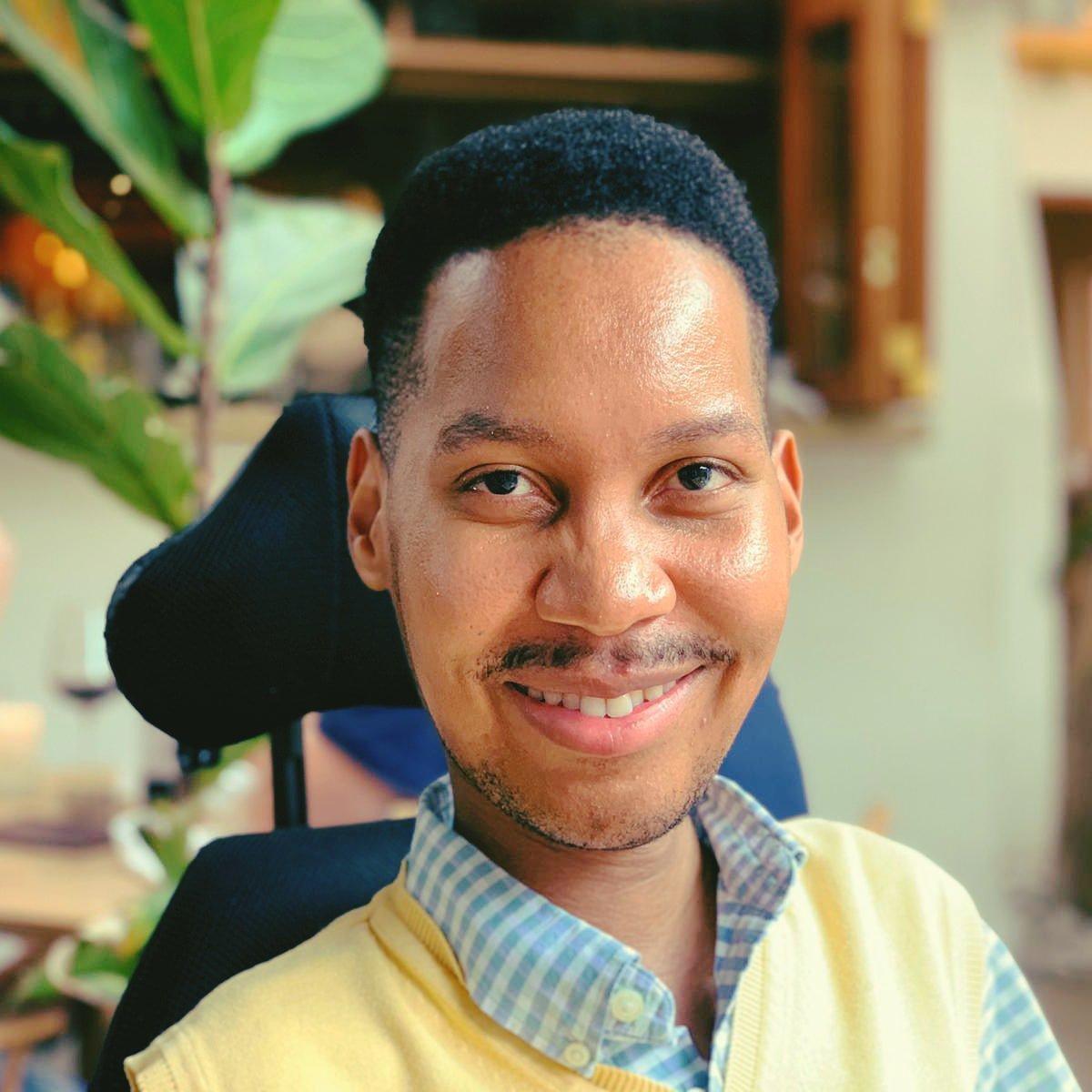 Eddie Ndopu indoor image