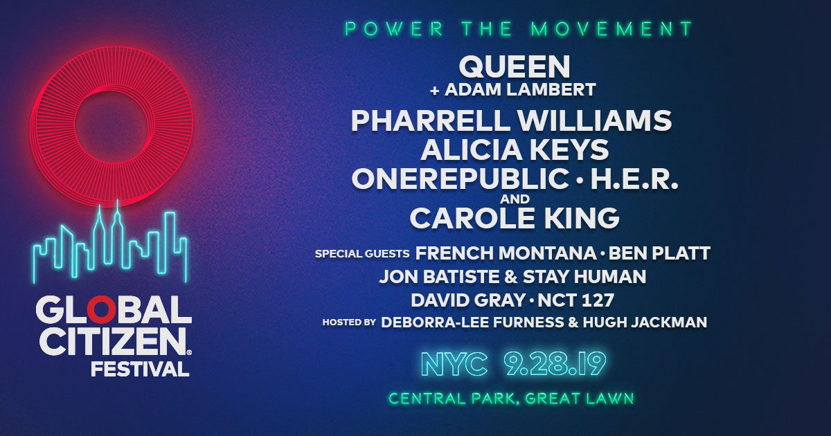 Global Citizen Festival New York 2019